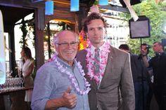 News: Jimmy Buffet's Escape to Margaritaville Meets the Press, Photos: Shana Nelson. With Paul Alexander Nolan, Lisa Howard, Alison Luff, Eric Petersen. . .