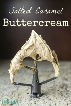 An absolutely amazing salted caramel buttercream recipe. I love it with apple spice cake and chocolate cake, especially.