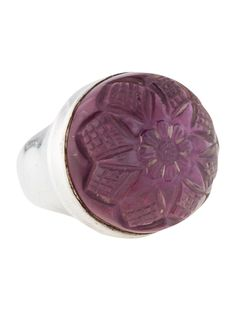 20%off  $116.00    Stephen Dweck Carved Floral Cocktail Ring - Rings - STD21475 | The RealReal