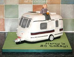 Caravan cake! Cake by OfF ThE CuFf CaKeS!!