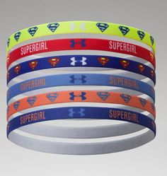 Women's Under Armour® Alter Ego Supergirl Mini Headbands- Love these headbands!