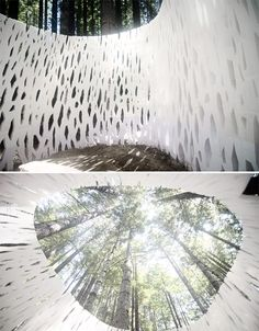 Forest Pavilion is World's First 3D-Printed Architecture