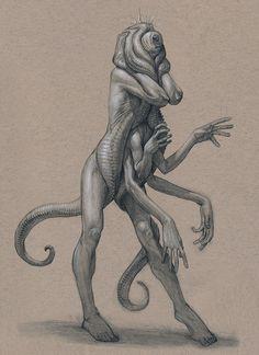Amalgam Worm by Mavros-Thanatos female demon devil monster beast creature animal… Monster Sketch, Monster Art, Call Of Cthulhu, Creature Feature, Creature Design, Weird Creatures, Fantasy Creatures, Nicholas Hoult, Dark Fantasy