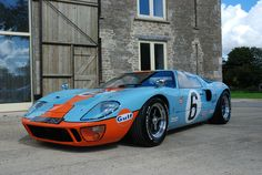 Ford GT40 Jacky Ickx GT40 Gulf Colours. | eBay