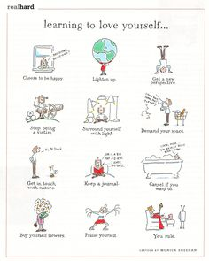 learning to love yourself - monica sheehan - Healthy Life Keeping A Journal, Learning To Love Yourself, Self Care Activities, Self Improvement Tips, Self Awareness, Self Care Routine, Learn To Love, Coping Skills, Positive Life