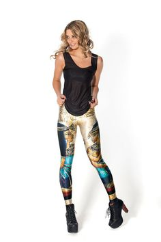 Egypt Leggings › Black Milk Clothing