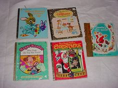 Little Golden Books set of 5 by pamscrafts7631 on Etsy, $6.00