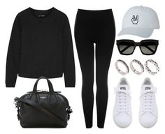 """""""Style #11289"""" by vany-alvarado ❤ liked on Polyvore featuring rag & bone, Topshop, Givenchy, adidas, Yves Saint Laurent and ASOS"""