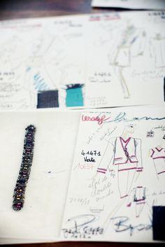 Style Mood Board: Chanel Paris Byzance: Atelier Lesage
