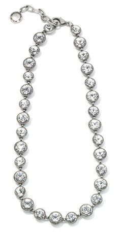 Captivating Swarovski crystal necklace in burnished silver. from Miglio Swarovski Crystal Necklace, Swarovski Crystals, Designer Jewellery, Jewelry Design, Birthday Treats, Independent Consultant, Jewelry Supplies, Renaissance, Corset