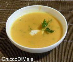 Vellutata di zucca ricetta vegetariana il chicco di mais http://blog.giallozafferano.it/ilchiccodimais/vellutata-di-zucca-ricetta-vegetariana/