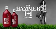 AKTION - DIESEL ZERO PLUS - 2 zum Preis von 1 ! Nur auf www.brasty.de ;-) #parfüm #diesel #instagood #instagram #instacool #perfume #duft #HashTags #parfüm #perfume #duft #fragrance #eaudetoilette #eaudeparfum #life #lifestyle #original #label #boss #dolcegabbana #calvinklein #emporioarmani #chanel #paco #pacorabanne #giorgioarmani #dkny #versace #gucci #lalique #givenchy Giorgio Armani, Diesel, Lottery Winner, Cover, Vodka Bottle, Drinks, Instagram, Gifts, Design