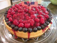 Nan's Raspberry Cheesecake