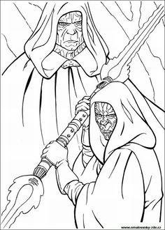 Omalovánky k vytisknutí - Star Wars - strana 1