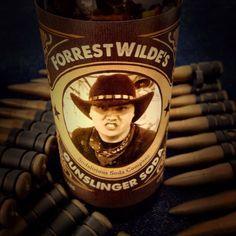 Forest Wild's Gunslinger Soda bottle. Sodalirious custom hand made soda for your special event.  #sodalirious #soda #sodas #sodapop# sodajerk #sodajerks #sandiego #localbusiness #sodalicious #craftbrew #brewcrew #bottledsoda #craftsoda #grogtaggetlucky