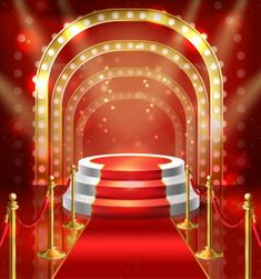 Buy Vector Podium for Show with Red Carpet by vectorpocket on GraphicRiver. Vector illustration podium for show with red carpet. Stage with lamp illumination for stand up, performance or lectur. Wedding Background Images, Studio Background Images, Photo Background Images, Photo Backgrounds, Golden Background, Red Carpet Backdrop, Free Video Background, Green Screen Video Backgrounds, Episode Interactive Backgrounds