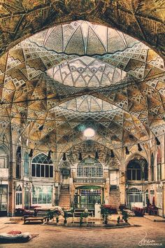 bazar or old market in iran and some other country is symbole of magic East