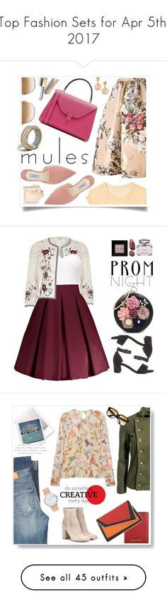 """""""Top Fashion Sets for Apr 5th, 2017"""" by polyvore ❤ liked on Polyvore featuring Fendi, John Hardy, Gap, Valextra, Chloé, Prada, Pasquale Bruni, Burberry, River Island and Bobbi Brown Cosmetics"""