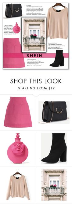 """Fuchsia"" by emina-la ❤ liked on Polyvore featuring Delpozo and Valentino"
