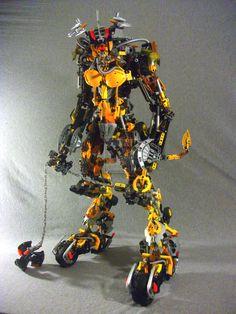 Bionicle MOC Mototaur 3.0 by 3rdeye88.deviantart.com
