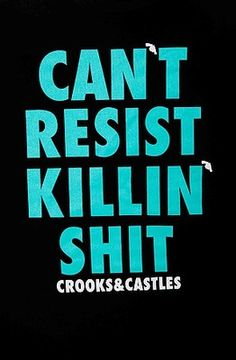 New Crooks and Castles Killn SH T T Shirt Tee Great Style Pic Size   eBay