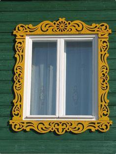 Металлические наличники на окна