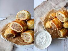 Græsk Farsbrøds Hapsere - Gode Til Snacks Og Madpakken - One Kitchen DK - YouTube