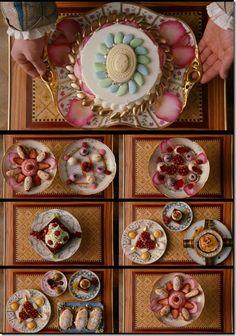 Marie Antoinette (2006), Production Design by K.K. Barrett