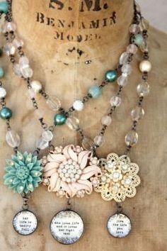 beautiful new flower jewels ..