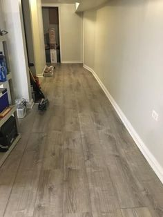 New Laminate In Basement