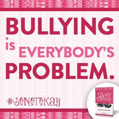 is - join the anti-bullying movement! Girl Makeover, Problem Set, Anti Bullying, Mean Girls, Stories For Kids, Its Okay, Teaching, Writing, Books
