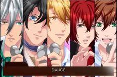 tous les personnages de amour sucré sont ici dans l'ordre Lysandre (le garçon au cheveux blanc) , Armin (le garçon au cheveux noires) , Nathaniel ( le blond) , Castiel (mon crushhh *^* le garçon au cheveux rouges) et enfin Kentin le brun