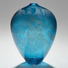 Precious Vase in Aqua
