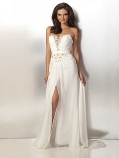 A-line Sweetheart Lace Sleeveless Floor-length Chiffon Prom Dress