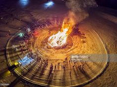 Bonfires are a long time tradition on Iceland's New Years Eve, a great way to say goodbye to another year gone while you welcome a new one. Image is shot using a drone.