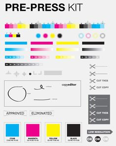 FREE For All: (from November 2011)  Mixed assortment of free resources includes 2012 calendar templates; a vector kit of pre-press and markup symbols; 13 typefaces; 60 photos of paper; and one way to sign and send a document without a fax machine.