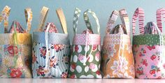 Quick and Easy – Make Several for Gifts! This little fabric bag was designed as…