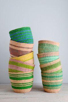 Kenyan basket: Green Collection