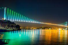 Bridge Evening Light Reflection