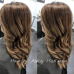 Balayage  Hair by Ashley Hickman. #louisvillekentucky #360salonandspa
