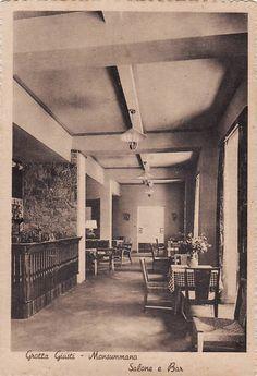 Monsummano; Grotta Giusto; Salone e Bar