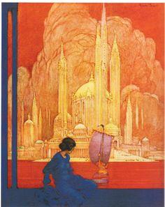 Franklin Booth - Color Illustration