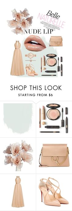 """Natrual Beauty"" by torresmjm-1 ❤ liked on Polyvore featuring Chloé, Jenny Packham, Christian Louboutin and Michael Kors"
