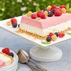 Raspberry-Lemon Chiffon Icebox Cake - EatingWell.com