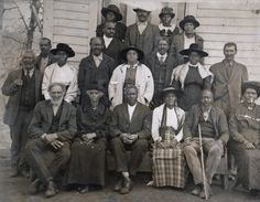 AFFRILACHIANS | The term Affrilachian, coined in the early 1990's by Kentucky poet Frank X Walker. Walker sought to recognize people who are both African American and Appalachian, and to recover the multiracial identify of the region. The people of the southern mountains were, from early settlement days, a community of white, Native American, and African American families. Photo: AME Zion Congregation (courtesy of Hunter Library Special Collections, WCU)