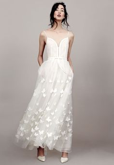 Butterfly-inspired gown from Kaviar Gauche's 2015 bridal line