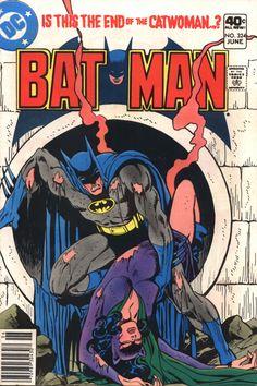 Batman vol 1 #324   Cover art by Jim Aparo & Tatjana Wood