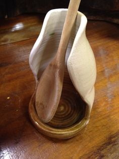 Pottery Spoon Rest by BearTracksTradingCo on Etsy, $15.99
