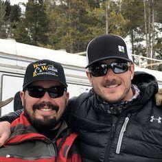 Skiers at 320 Ranch, near Big Sky, MT © 2017 Skijor International, LLC