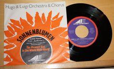 """HUGO & LUIGI ORCHESTRA & CHORUS - Sonnenblumen - 7"""" Vinyl - Avco Embassy"""